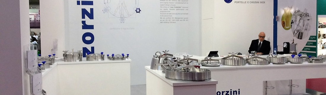 Drinktec – Simei 2017. Zorzini Spa is satisfied with his participation in the exhibition and thanks all the customers who visited the stand.